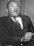 Martin Luther King, 1960 Stretched Canvas Print