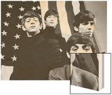 The Beatles in America, 1965 Wood Print