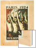 Olympics 1924 (Jeux Olympiques) Wood Print by Jean Droit