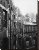 Paris, 1922 - Cour de Rohan Stretched Canvas Print by Eugene Atget