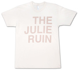 The Julie Ruin- Block Logo T-Shirt