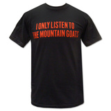 The Mountain Goats- Red Print Listen T-Shirt