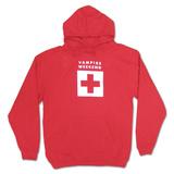 Hoodie: Vampire Weekend- Red Ski Patrol Pullover Hoodie