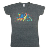 Juniors: Tame Impala- Tye Dye Logo T-Shirt