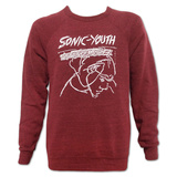 Crewneck  Sweatshirt: Sonic Youth- Confusion is Sex T-Shirt