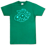 The Three O'Clock- Green Logo T-Shirt