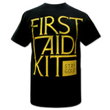 First Aid Kit- Stay Gold T-shirts