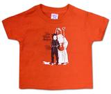 Toddler: The White Stripes- Krampus Tshirts