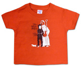 Toddler: The White Stripes- Krampus Shirt