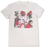 Juniors: Washed Out- Paracosm Cream T-Shirt