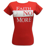Juniors: Faith No More- Block Logo T-Shirt