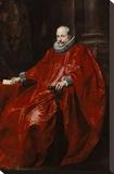 Portrait of Agostino Pallavicini Bedruckte aufgespannte Leinwand von Anthony Van Dyck
