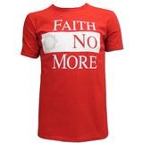 Faith No More- White Block Logo Shirt