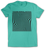 Juniors: Tame Impala- Wave Square T-shirts