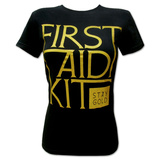 Juniors: First Aid Kit- Stay Gold T-shirts