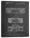 Boom Box Stretched Canvas Print by Cole Borders