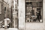 Hair Salon, Venice, Italy Photographic Print by Steven Boone