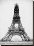 The Eiffel Tower, November 23, 1888 Stretched Canvas Print by Louis-Emile Durandelle