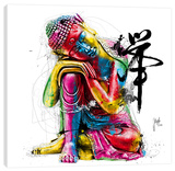 Buddha Stretched Canvas Print by Patrice Murciano