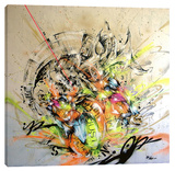 Unison Stretched Canvas Print by Taka Sudo