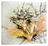 Pick Up Stretched Canvas Print by Taka Sudo