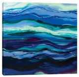 Twilight Rhythm Stretched Canvas Print by Barbara Biolotta