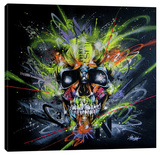 Neon Stretched Canvas Print by Taka Sudo