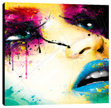 Laura Stretched Canvas Print by Patrice Murciano