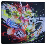 Metamorphose Stretched Canvas Print by Taka Sudo