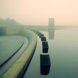 David Bracher - Reservoir in England - Fotografik Baskı
