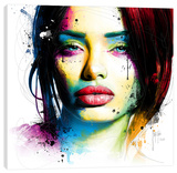 Aurélie Stretched Canvas Print by Patrice Murciano