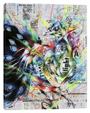 Suzaku Stretched Canvas Print by Taka Sudo