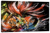 Hikari To Kage Stretched Canvas Print by Taka Sudo