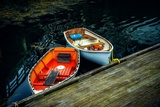 Small Rowing Boats Photographic Print by Jody Miller