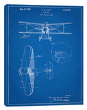 W.D. Clark Plane B Stretched Canvas Print by Cole Borders