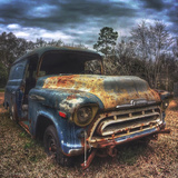 Old Auto Left to Rust in the Woods Photographic Print by Eric Tinsley