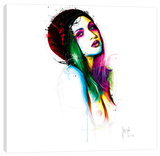 Laura Baugnie Stretched Canvas Print by Patrice Murciano