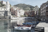 Vernazza Harbor, Cinqueterra, Italy Photographic Print by Steven Boone