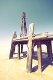 David Bracher - Seaside Jetty in England - Fotografik Baskı