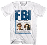 X-Files- FBI Special Agents T-Shirt