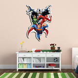 Justice League Wall Art Poutače se stojící postavou