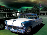 Old Rusting Car in Hot USA Photographic Print