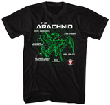 Starship Troopers- Arachnid Schematic T-shirts