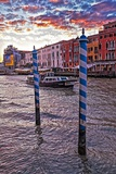 The Grand Canal, Venice, at Sunset Photographic Print by Steven Boone