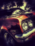 Vintage Retro American Car Photographic Print by David Challinor