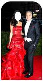 George & Amal Clooney Stand-In Silhouettes découpées en carton