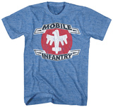 Starship Troopers- Distressed Mobile Infantry T-shirts