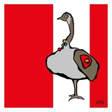 Canada Goose Posters by  Yaro
