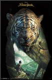 The Jungle Book- Shere Khan Overlay Mounted Print