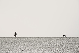 Man and Dog Photographic Print by Torsten Richter